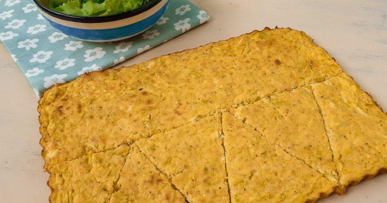 Tartă cu dovlecei și brânză