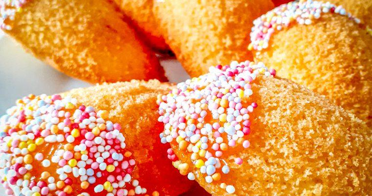 Madlene (madeleine) cu aromă de portocale