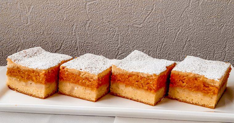 Prăjitură cu dovleac copt