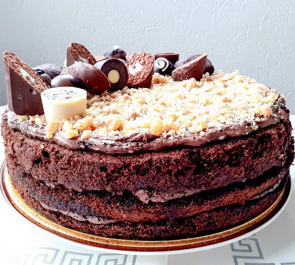 tort krantz cu ciocolata