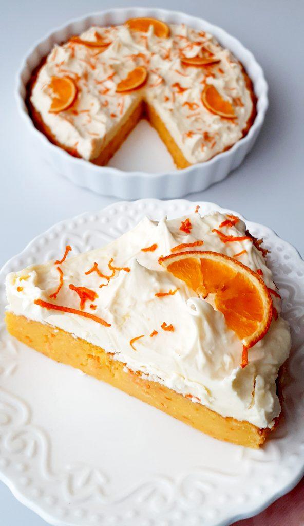 tarta cu portocale si ciocolata alba 2